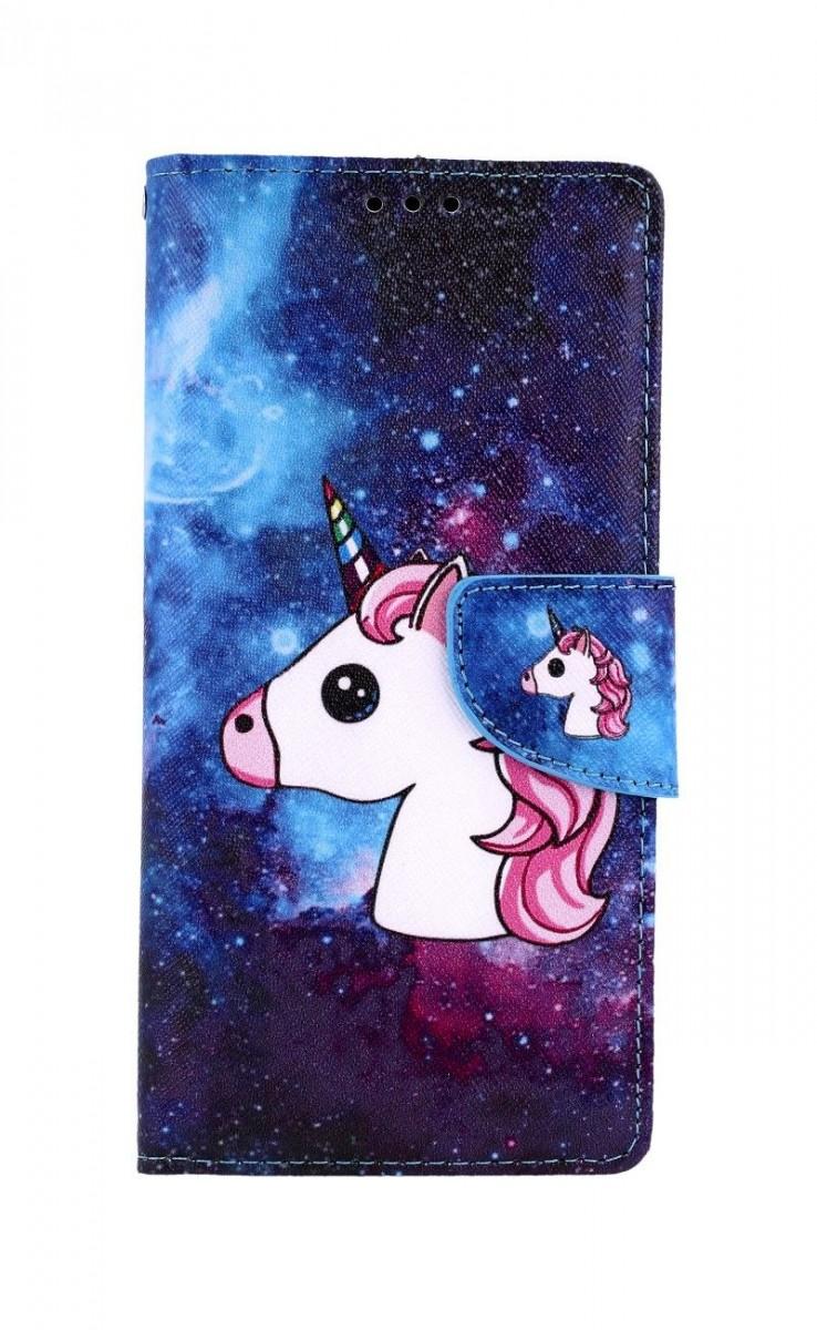 Knížkové pouzdro na Huawei P Smart Pro Space Unicorn