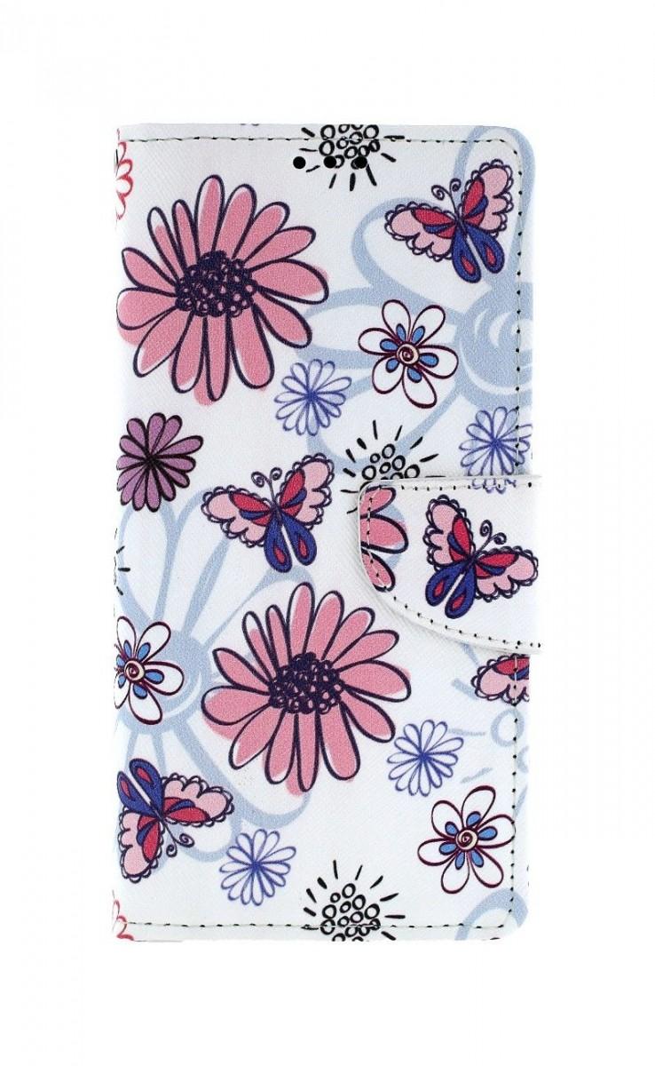 Knížkové pouzdro na Huawei P Smart Pro Flowers