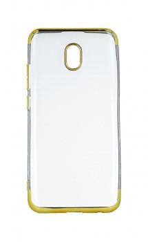 Zadní silikonový kryt Forcell Electro Jelly na Xiaomi Redmi 8A zlatý