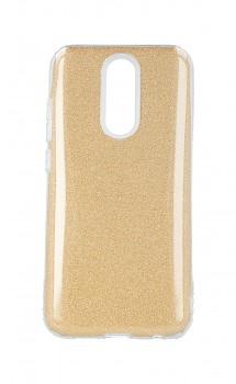 Zadní pevný kryt Forcell na Xiaomi Redmi 8A glitter zlatý