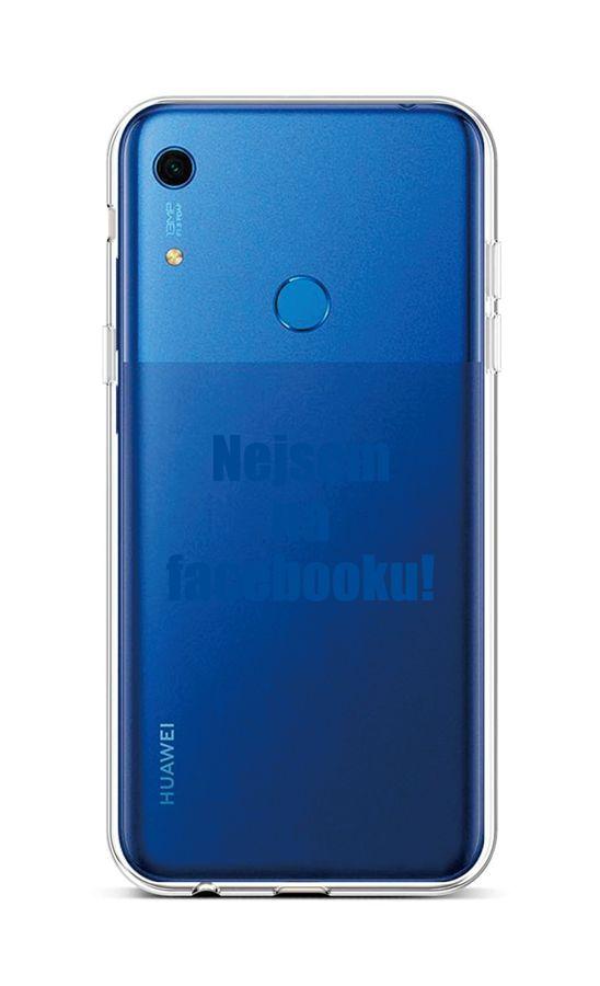 Kryt TopQ Huawei Y6s silikon Nejsem na Facebooku 47482 (pouzdro neboli obal na mobil Huawei Y6s)