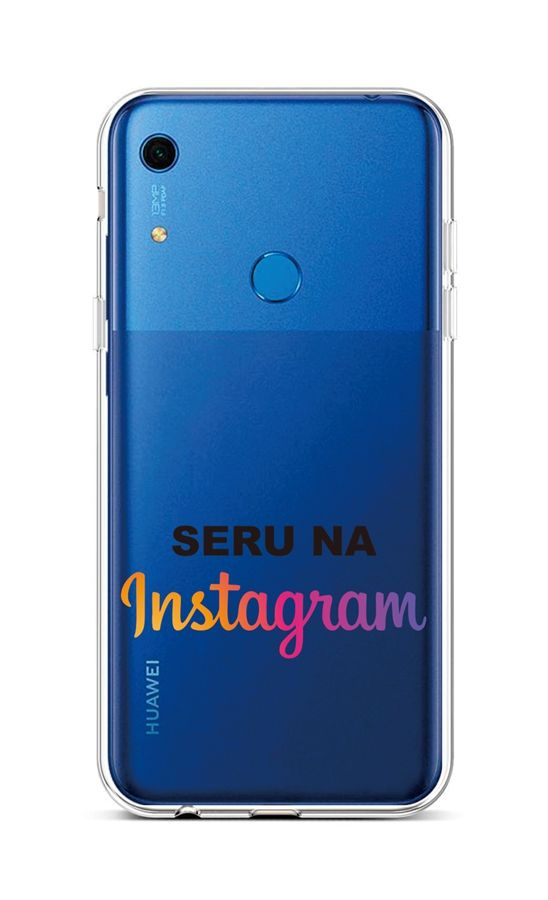 Kryt TopQ Huawei Y6s silikon Instagram 47484 (pouzdro neboli obal na mobil Huawei Y6s)