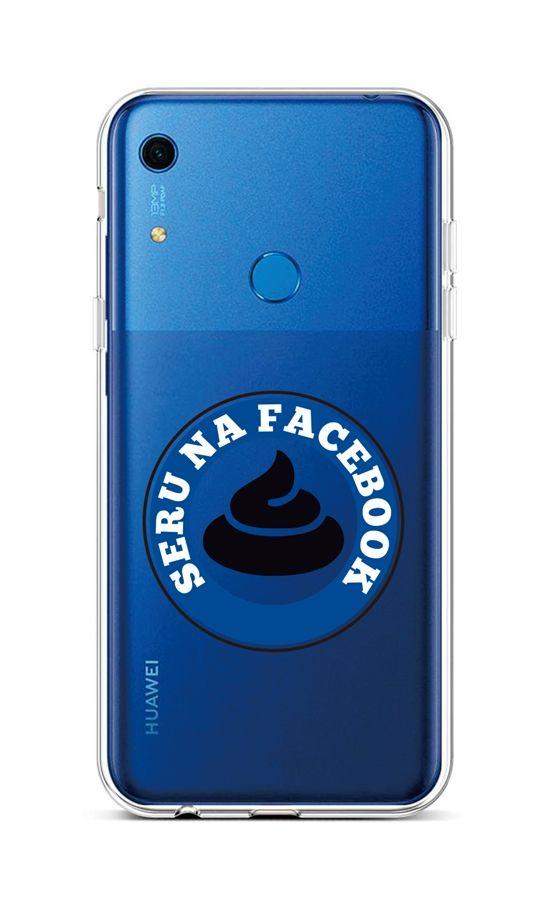 Kryt TopQ Huawei Y6s silikon Facebook 47490 (pouzdro neboli obal na mobil Huawei Y6s)