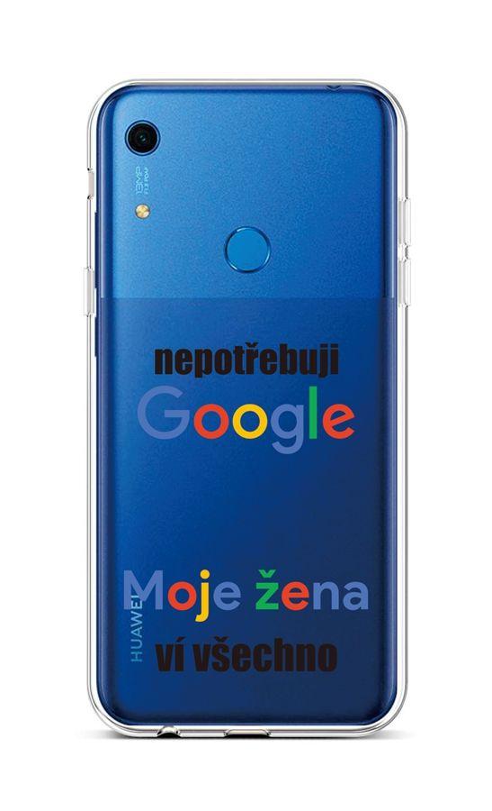 Kryt TopQ Huawei Y6s silikon Google 47492 (pouzdro neboli obal na mobil Huawei Y6s)