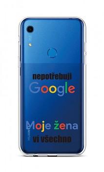 Zadní silikonový kryt na Huawei Y6s Google