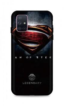 Zadní 3D silikonový kryt na Samsung A71 Superman 2