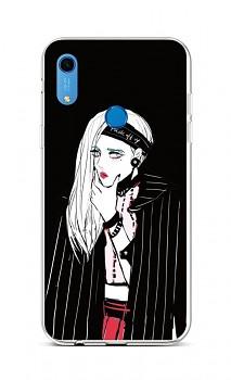 Zadní silikonový kryt na Huawei Y6s Dark Girl