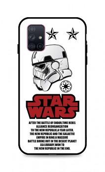 Zadní 3D silikonový kryt na Samsung A71 Star Wars