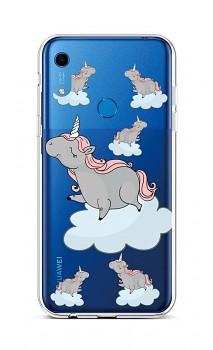 Zadní silikonový kryt na Huawei Y6s Grey Unicorns