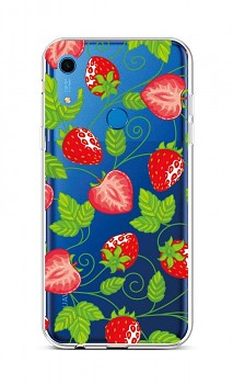 Zadní silikonový kryt na Huawei Y6s Strawberries