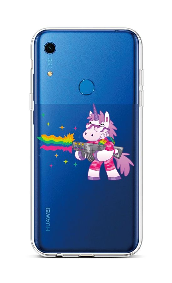 Zadní silikonový kryt na Huawei Y6s Rainbow Gun
