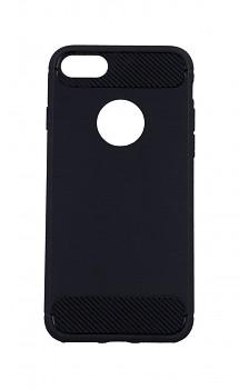 Zadní silikonový kryt na iPhone 8 černý