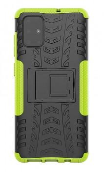 Ultra odolný zadní kryt na Samsung A51 zelený
