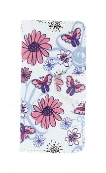 Knížkové pouzdro na Samsung A51 Flowers