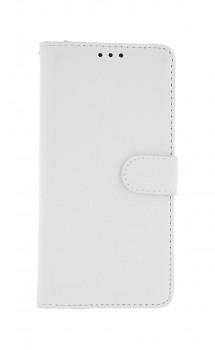 Knížkové pouzdro na Xiaomi Redmi 8A bílé s přezkou