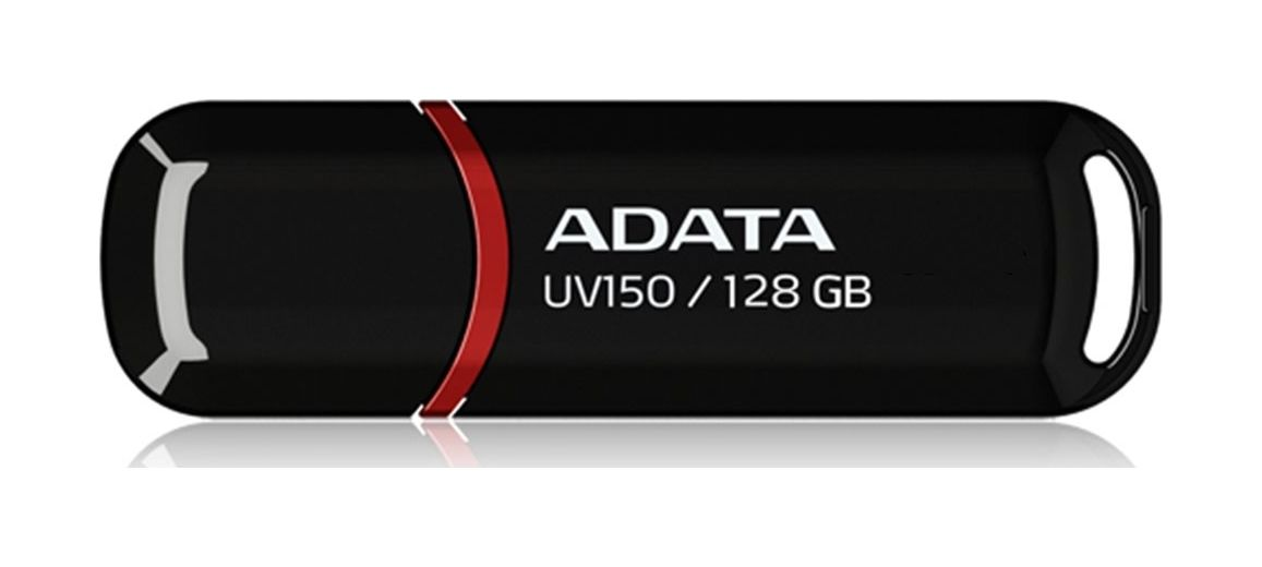Flash disk ADATA UV150 128GB černo-červený 48129