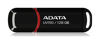 Flash disk ADATA UV150 128GB černo-červený