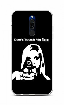 Zadní silikonový kryt na Xiaomi Redmi 8 Don't Touch Gun