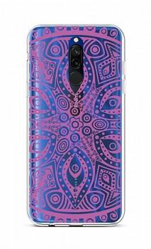 Zadní silikonový kryt na Xiaomi Redmi 8 Violet Mandala