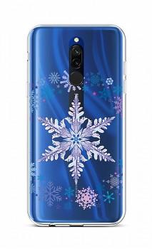 Zadní silikonový kryt na Xiaomi Redmi 8 Snowflake