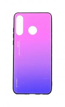 Zadní pevný kryt LUXURY na Huawei P30 Lite duhový růžový