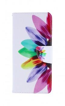Knížkové pouzdro na Samsung A51 Barevná květina