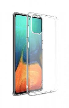 Ultratenký silikonový kryt na Samsung A71 0,5 mm průhledný