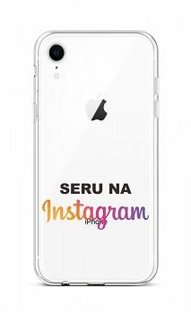 Zadní silikonový kryt na iPhone XR Instagram
