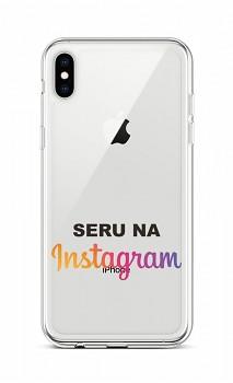 Zadní silikonový kryt na iPhone XS Instagram