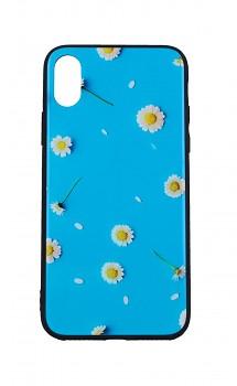 Zadní pevný kryt LUXURY na iPhone XS Daisy 2