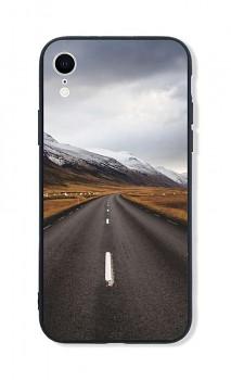 Zadní pevný kryt LUXURY na iPhone XR Horská cesta