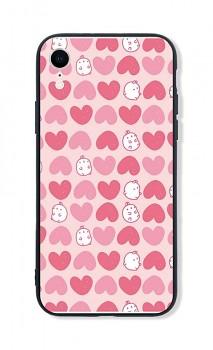 Zadní pevný kryt LUXURY na iPhone XR Sweet Bunny