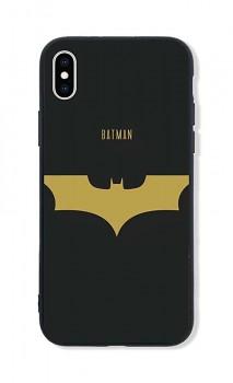 Zadní pevný kryt LUXURY na iPhone XS Gold Batman