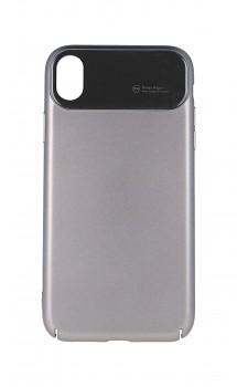 Zadní pevný kryt Roar Echo Ultra na iPhone XR šedý