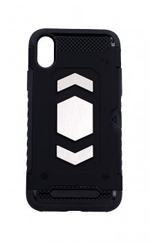 Ultra odolný zadní kryt Forcell na iPhone XS Magnet černý