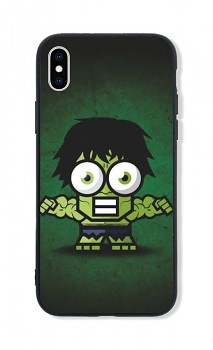 Zadní pevný kryt LUXURY na iPhone XS Little Hulk