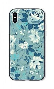 Zadní pevný kryt LUXURY na iPhone XS Retro Flowers