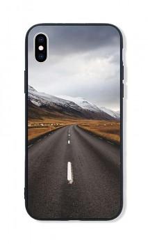 Zadní pevný kryt LUXURY na iPhone XS Horská cesta