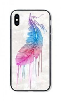 Zadní pevný kryt LUXURY na iPhone XS Feather