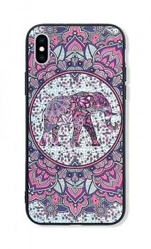 Zadní pevný kryt LUXURY na iPhone XS Elephant