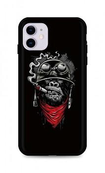 Zadní silikonový kryt DARK na iPhone 11 Gorilla