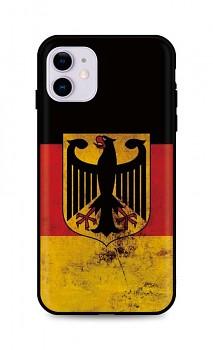 Zadní silikonový kryt DARK na iPhone 11 Germany