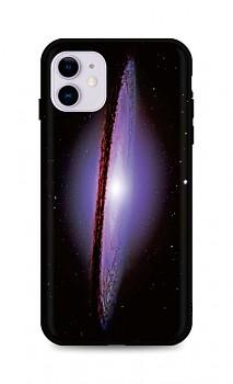 Zadní silikonový kryt DARK na iPhone 11 Milky Way