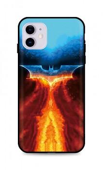 Zadní silikonový kryt DARK na iPhone 11 Fiery Batman