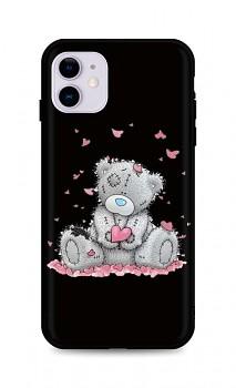 Zadní silikonový kryt DARK na iPhone 11 Lovely Teddy Bear