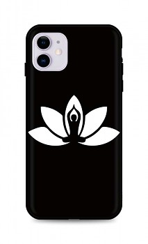 Zadní silikonový kryt DARK na iPhone 11 Yoga