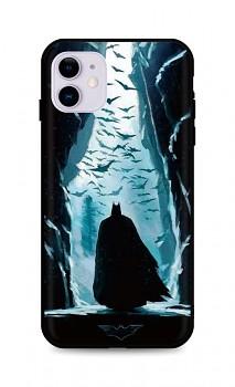 Zadní silikonový kryt DARK na iPhone 11 Dark Batman