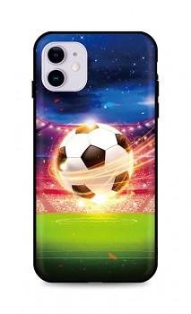 Zadní silikonový kryt DARK na iPhone 11 Football Dream