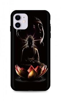 Zadní silikonový kryt DARK na iPhone 11 Meditation