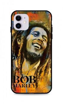 Zadní silikonový kryt DARK na iPhone 11 Bob Marley